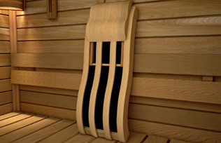 IR Sauna Backrest